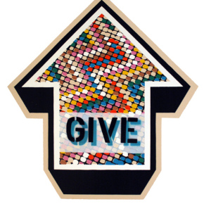 ABOVE – give