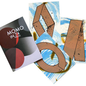 Momo in 74 pieces – signed + screenprints