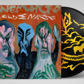 CANEMORTO & ANGELINO – GOLDEN AGE LP HANDPAINTED